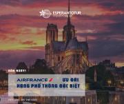 ƯU ĐÃI HẠNG PHỔ THÔNG CAO CẤP CỦA AIR FRANCE