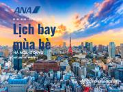 ALL NIPPON AIRWAYS KHAI THÁC LỊCH BAY MÙA HÈ TỪ 29/03/2020