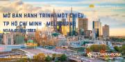 VIETNAM AIRLINE MỞ BÁN HÀNH TRÌNH MỘT CHIỀU TP HỒ CHÍ MINH – MELBOURNE 03/04/2020, KHÔNG CÓ HÀNH LÝ