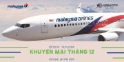 KHUYẾN MẠI THÁNG 12 TỪ MALAYSIA AIRLINES