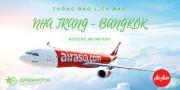 AIRASIA THÔNG BÁO LỊCH BAY NHA TRANG – BANGKOK ĐẾN THÁNG 12/2020