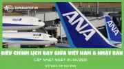 ALL NIPPON AIRWAYS CẬP NHẬT ĐIỀU CHỈNH LỊCH BAY GIỮA VIỆT NAM & NHẬT BẢN