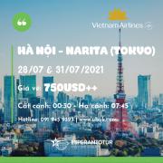 TRỞ LẠI XỨ SỞ HOA ANH ĐÀO TRONG THÁNG 07/2021 CÙNG VIETNAM AIRLINES VỚI GIÁ VÉ CHỈ TỪ 750USD++