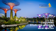 SINGAPORE STOPOVER HOLIDAY - GÓI DỊCH VỤ ƯU ĐÃI CỦA SINGAPORE AIRLINES