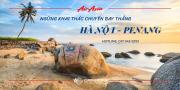 AIR ASIA NGỪNG KHAI THÁC CHUYẾN BAY THẲNG TỪ HÀ NỘI – PENANG TỪ 18/09/2019