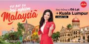 KHAI TRƯƠNG ĐƯỜNG BAY MỚI ĐÀ LẠT - KUALA LUMPUR, MALAYSIA