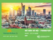 VIETNAM AIRLINES MỞ BÁN CHUYẾN BAY HÀ NỘI – FRANKFURT NGÀY 07/11/2020