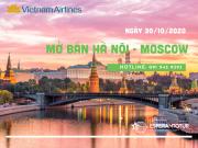 VIETNAM AIRLINES MỞ BÁN CHUYẾN BAY HÀ NỘI – MOSCOW NGÀY 30/10/2020