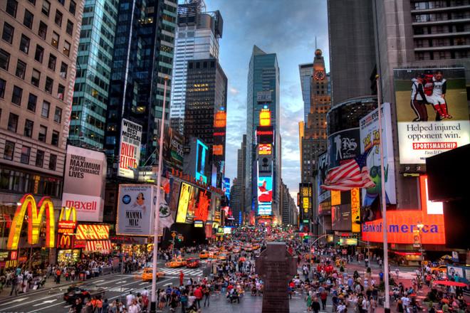NEW YORK LÀ THÀNH PHỐ ĐƯỢC YÊU THÍCH NHẤT NƯỚC MỸ