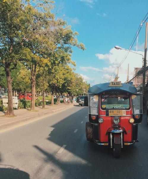 Chiang Mai, nơi mà việc đi sang đường cũng khiến bạn xúc động