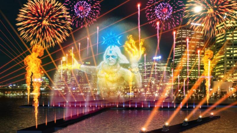Đại tiệc hòa âm ánh sáng Vivid Sydney 2017 – Australia