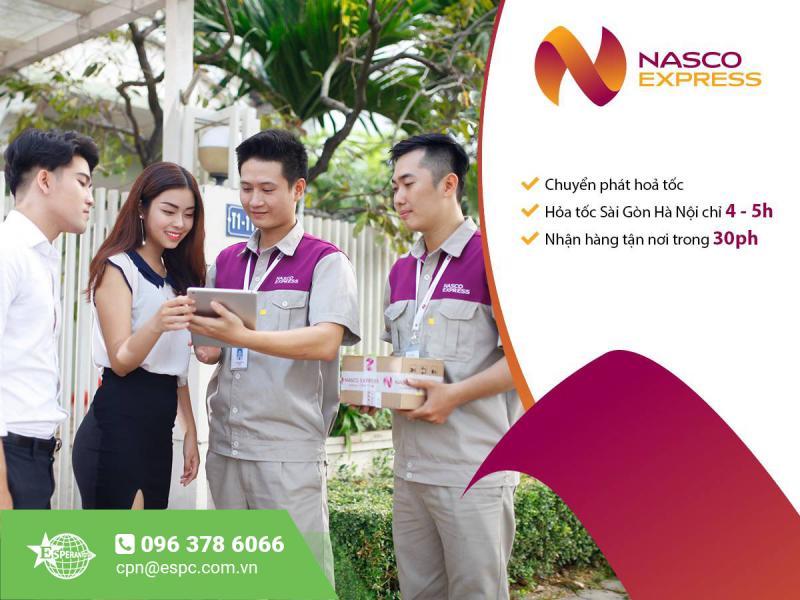 DỊCH VỤ HỎA TỐC ÁP TẢI CỦA NASCO EXPRESS
