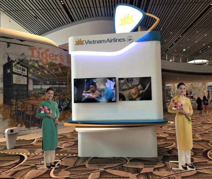 VIETNAM AIRLINES CHUYỂN SANG KHAI THÁC TẠI NHÀ GA T4, SÂN BAY CHANGI SINGAPORE