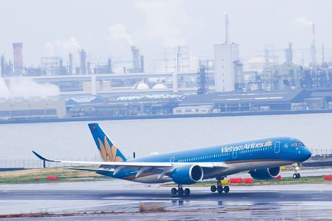 VIETNAM AIRLINES KHAI THÁC AIRBUS A350  ĐƯỜNG BAY GIỮA HÀ NỘI - HANEDA (NHẬT BẢN)