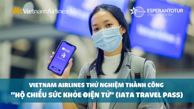 VIETNAM AIRLINES THỬ NGHIỆM THÀNH CÔNG