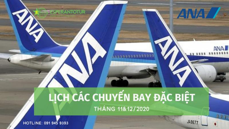 ALL NIPPON AIRWAYS KHAI THÁC CÁC CHUYẾN BAY ĐẶC BIỆT ĐẾN VIỆT NAM TRONG THÁNG 11