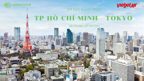VIETJET AIR MỞ BÁN HÀNH TRÌNH TP HỒ CHÍ MINH - TOKYO