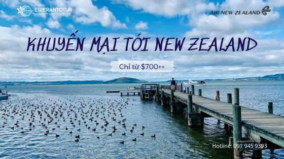 ƯU ĐÃI THÁNG MỚI CÙNG AIR NEWZEALAND