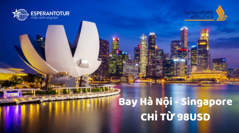 Singapore Airlines khuyến mãi nhân dịp tăng tần suất và số ghế chuyến bay mới