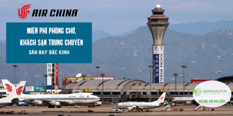 BAY TRUNG CHUYỂN VỚI AIR CHINA – LO GÌ NỐI CHUYẾN