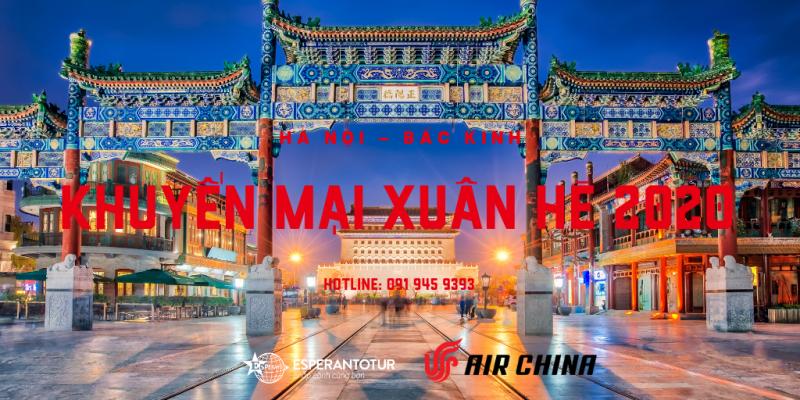 AIR CHINA KHUYẾN MẠI XUÂN HÈ 2020