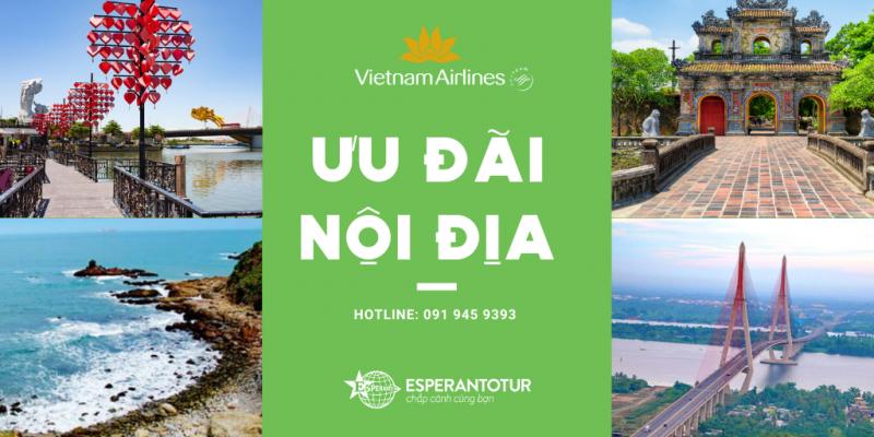 BAY KHẮP VIỆT NAM VỚI ƯU ĐÃI TỪ VIETNAM AIRLINES