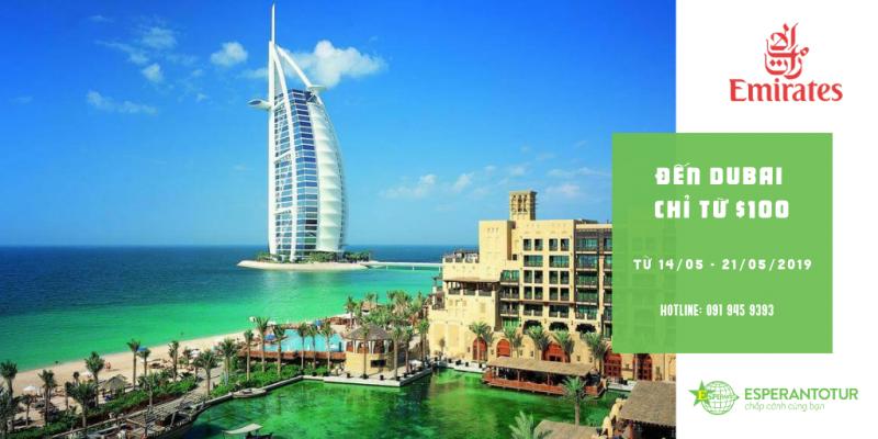 BAY DUBAI CHỈ TỪ $100