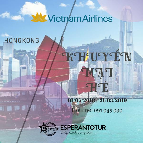 VIETNAM AIRLINES KHUYẾN MẠI GIÁ HÀ NỘI – HONGKONG