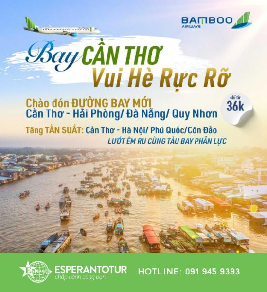 HÈ ĐẾN RỒI LẠI BAY BAMBOO AIRWAYS THÔI