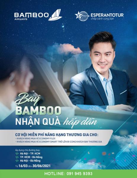 MIỄN PHÍ NÂNG HẠNG THƯƠNG GIA – CÙNG BAY BAMBOO NHA!