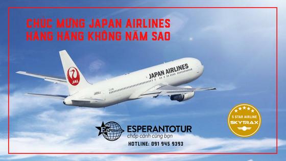 JAPAN AIRLINES VINH DỰ NHẬN GIẢI THƯỞNG HÃNG HÀNG KHÔNG NĂM SAO NĂM 2018