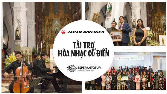 JAPAN AIRLINES TÀI TRỢ CHƯƠNG TRÌNH HÒA NHẠC CỔ ĐIỂN CỦA MAESTOSO TẠI NHÀ THỜ LỚN HÀ NỘI