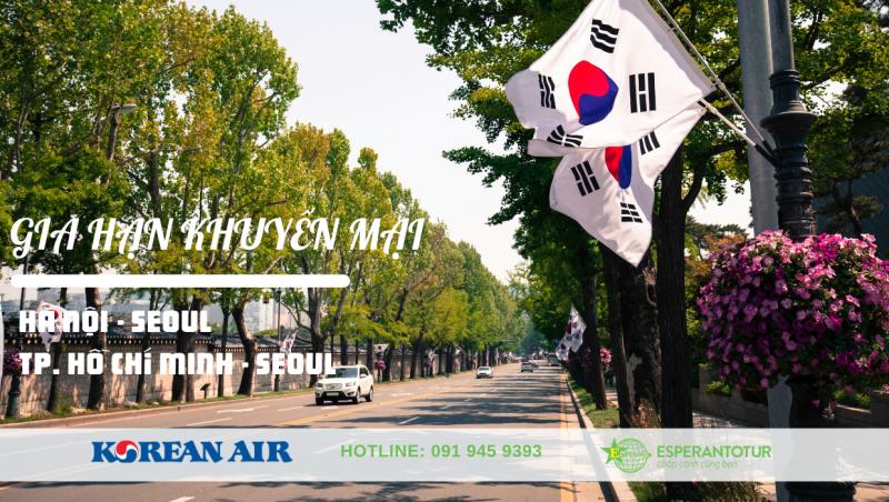 KOREAN AIR GIA HẠN CHƯƠNG TRÌNH KHUYẾN MẠI  ĐẾN HÀN QUỐC VÀ LỊCH BAY THÁNG 10/2020