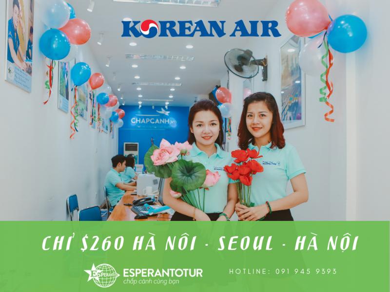 CHỈ $260 KHỨ HỒI ĐẾN SEOUL