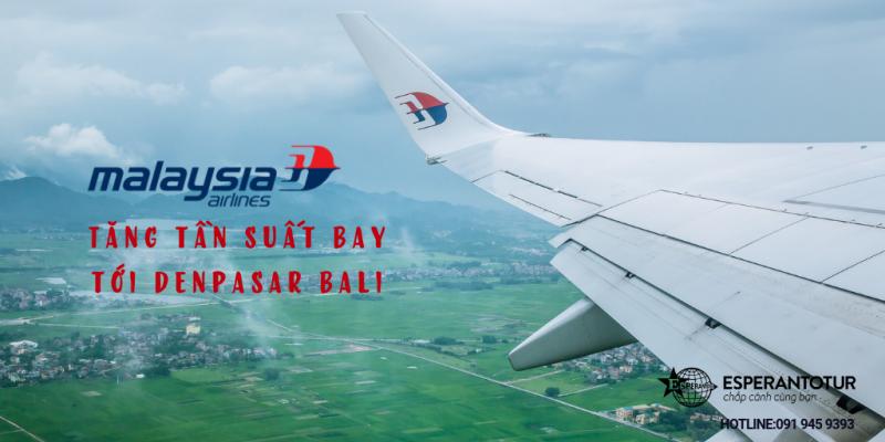 DỄ DÀNG BAY TỚI DENPASAR BALI CÙNG MALAYSIA AIRLINES