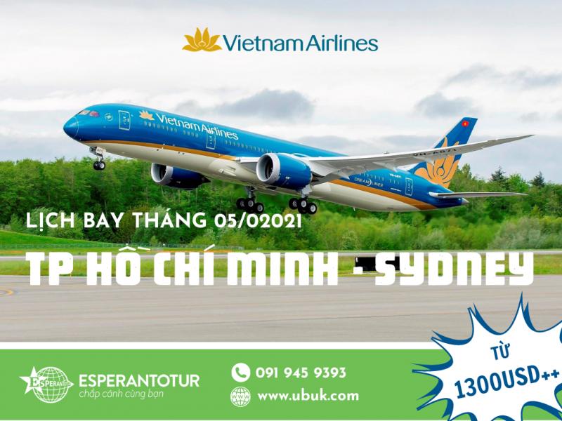 CHỈ TỪ 1300USD++ CÙNG VIETNAM AIRLINES FLY TỚI ÚC TRONG THÁNG 5/2021