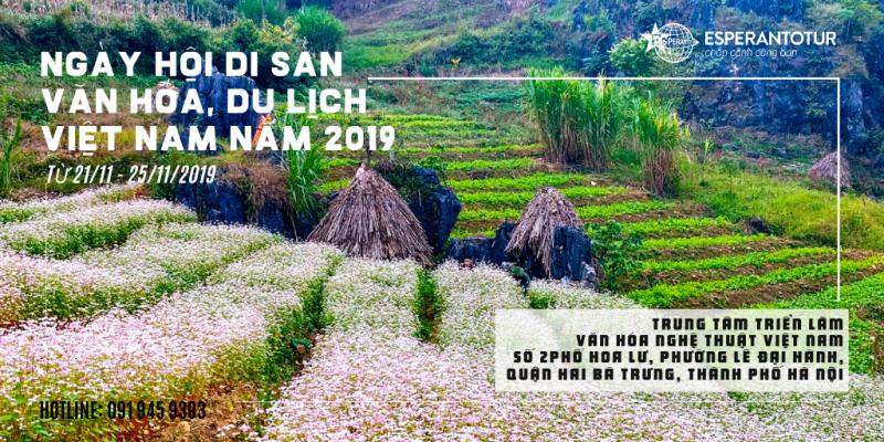 ESPERANTOTUR THAM DỰ NGÀY HỘI DI SẢN VĂN HÓA, DU LỊCH VIỆT NAM NĂM 2019