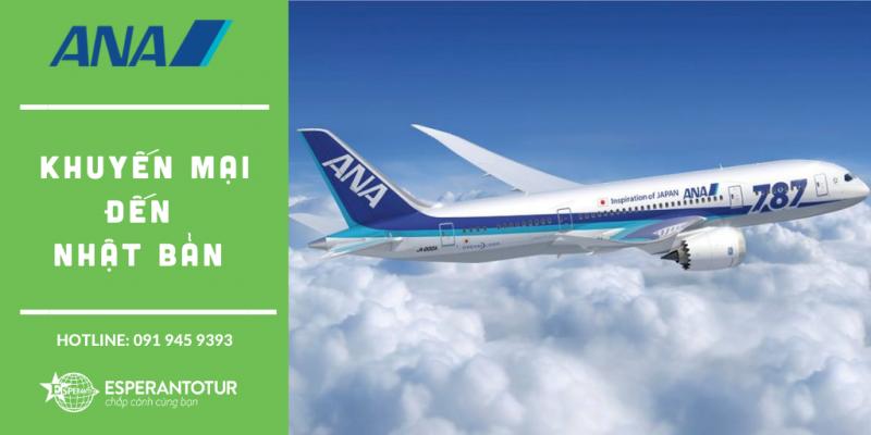 ALL NIPPON AIRWAYS TRIỂN KHAI KHUYẾN MẠI ĐI NHẬT BẢN TRONG THÁNG 9/2020