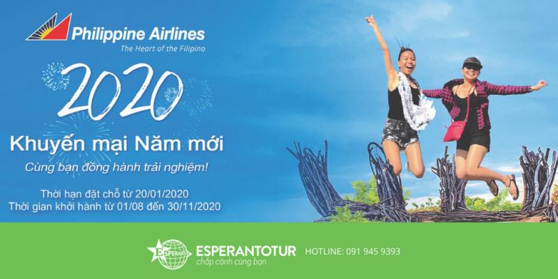 KHUYẾN MẠI NĂM MỚI 2020 TỪ PHILIPPINE AIRLINES
