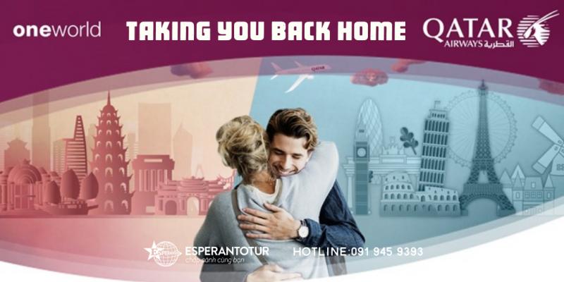 QATAR AIRWAYS TAKING YOU BACK HOME