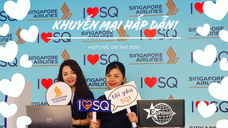 SINGAPORE AIRLINES TIẾP TỤC TUNG GIÁ KHUYẾN MẠI