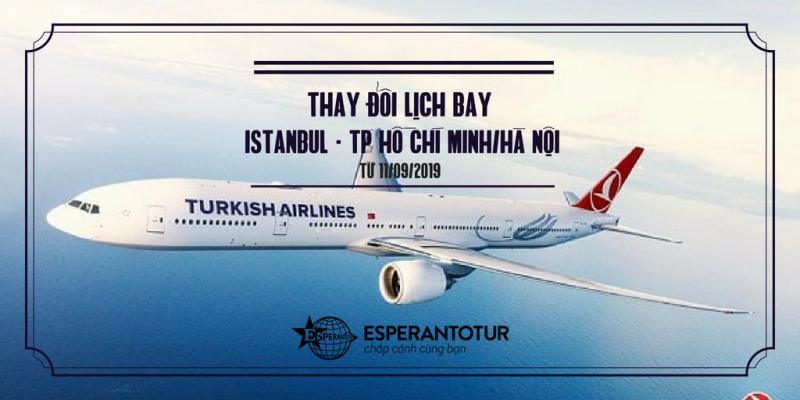TURKISH AIRLINES TÁCH CHUYẾN BAY RIÊNG BIỆT ĐẾN TP HỒ CHÍ MINH VÀ HÀ NỘI