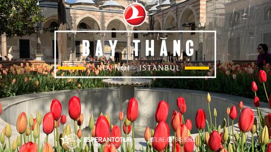 TURKISH AIRLINES TĂNG TẦN SUẤT BAY THẲNG ĐẾN ISTANBUL