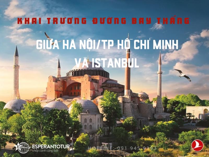 TURKISH AIRLINES CHÍNH THỨC KHAI TRƯỜNG ĐƯỜNG BAY THẲNG ĐẾN VIỆT NAM