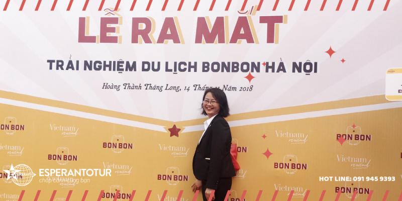 ESPERANTOTUR THAM DỰ BONBON CITY TOUR - CHUYẾN ĐI TRẢI NGHIỆM HÀ NỘI XƯA
