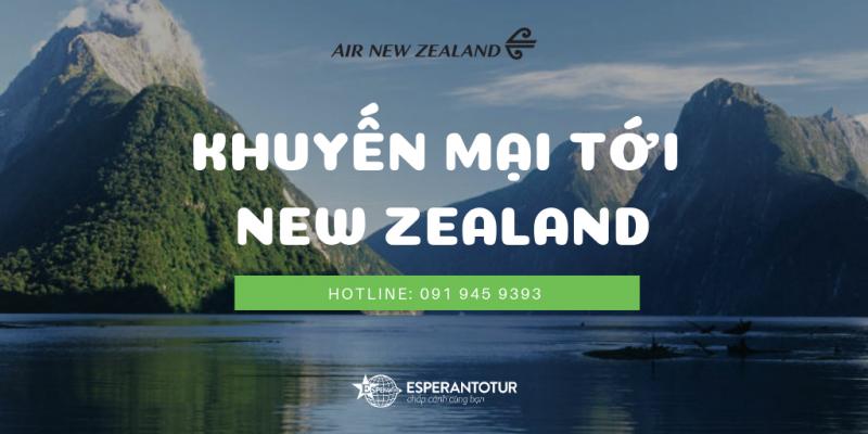 KHÁM PHÁ NEW ZEALAND XINH ĐẸP CÙNG ƯU ĐÃI TỪ AIR NEW ZEALAND
