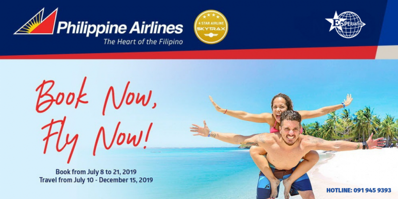 BOOK VÉ LIỀN TAY BAY NGAY CÙNG PHILIPPINES AIRLINES