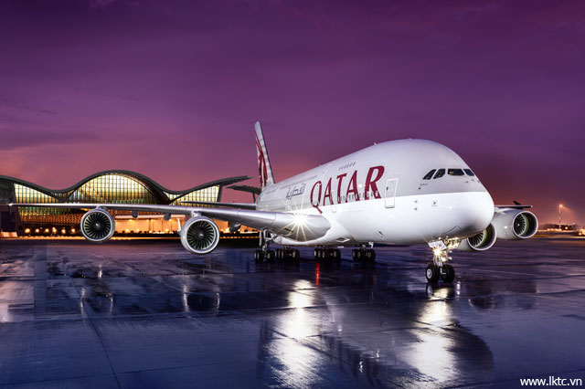 KHÁM PHÁ TÀU A380 CỦA QATAR AIRWAYS