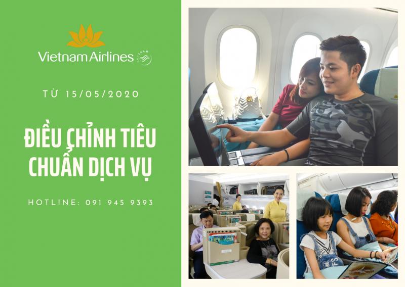 VIETNAM AIRLINES ĐIỀU CHỈNH TIÊU CHUẨN DỊCH VỤ ĐƯỜNG BAY NỘI ĐỊA SAU COVID
