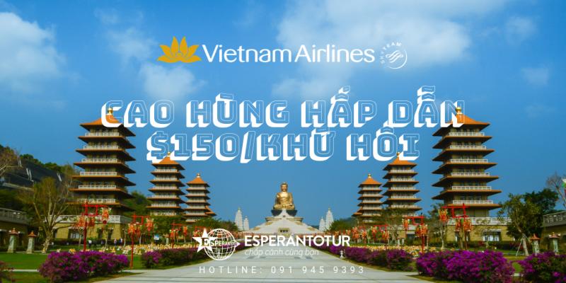 VIETNAM AIRLINES MỞ BÁN KHUYẾN MẠI ĐẾN CAO HÙNG